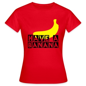 banana (F) - Women's T-Shirt