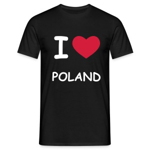 I love Poland - Men's T-Shirt