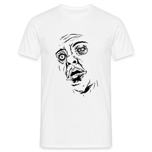 Zombie (vit, herr) - T-shirt herr