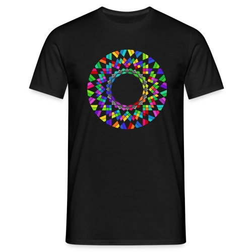 Rainbow flower - Men's T-Shirt