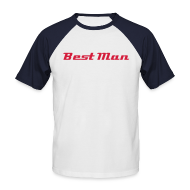 T-Shirts ~ Men's Baseball T-Shirt ~ Best Man