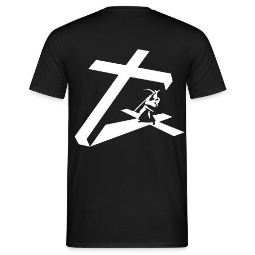 la croix et la faucille - T-shirt Homme