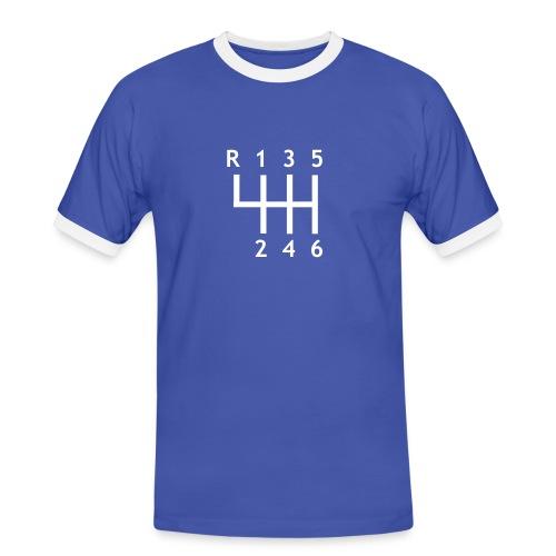 PRONKYOURCAR No4 - Mannen contrastshirt