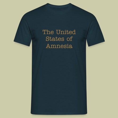 united states of Amnesia - T-shirt Homme