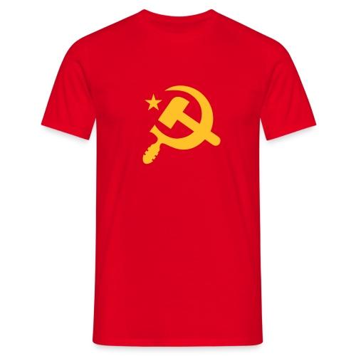 Classic Hammer Sickle T-Shirt - Men's T-Shirt