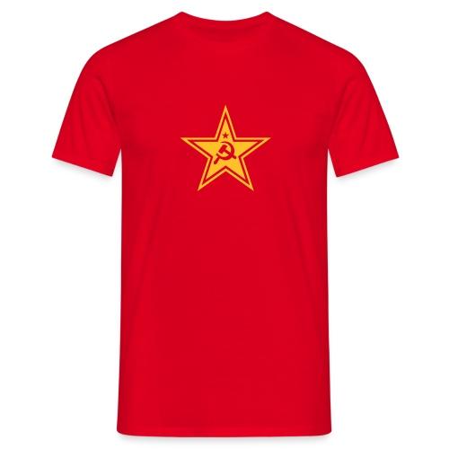 Communist Star T-Shirt - Men's T-Shirt