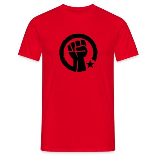 Socialist Fist T-Shirt - Men's T-Shirt