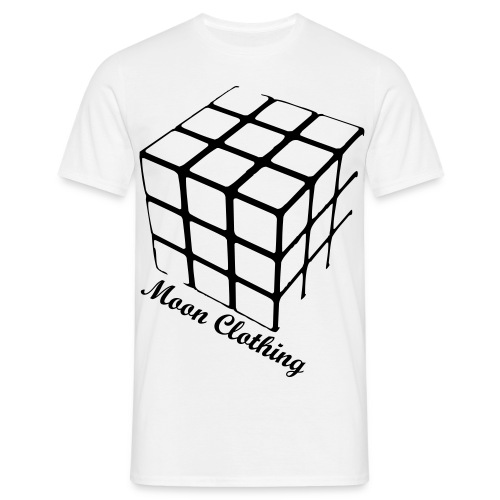 Rubix White - Men's T-Shirt