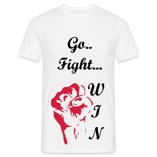 GO! FIGHT! WIN! - Men's T-Shirt