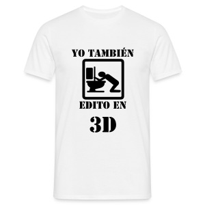 The 3D experience - Camiseta hombre