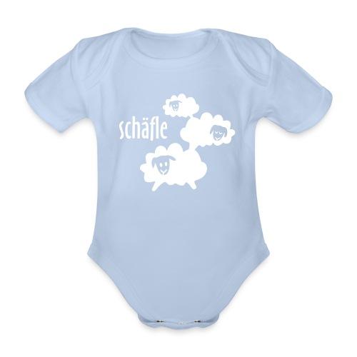 Schäfle Baby Body kurzarm - Baby Bio-Kurzarm-Body