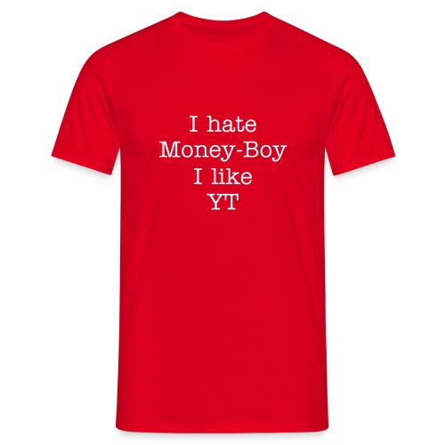 Anti Money-Boy - Männer T-Shirt