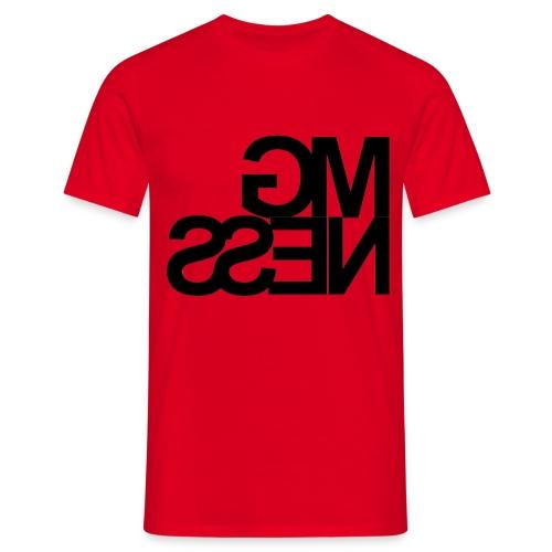 MGness Red Black classic - Männer T-Shirt