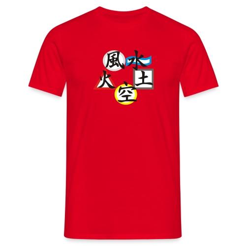 5 Elemente - Männer T-Shirt