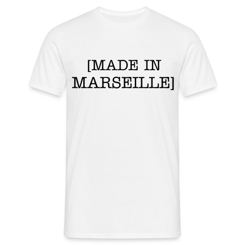 Made In Marseille Blanc - T-shirt Homme