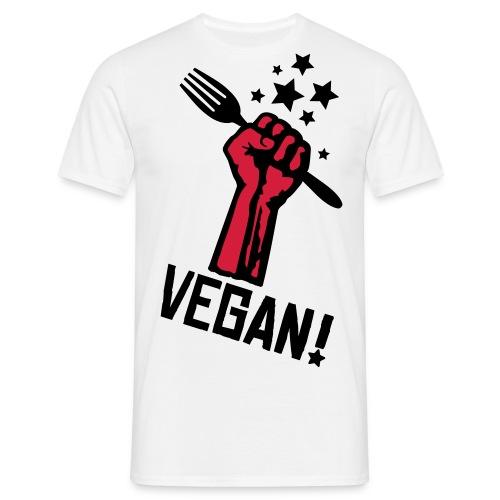 Vegan Revolution - Männer T-Shirt