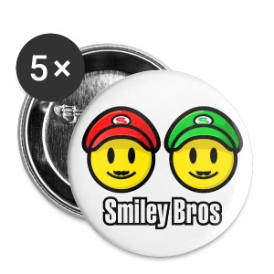 Smiley Bros V1 (dd print) - Buttons klein 25 mm