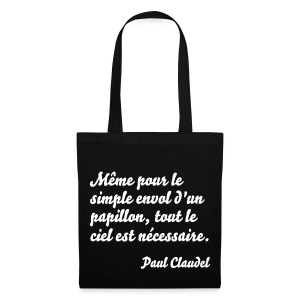 Sac de toile Paul Claudel - Tote Bag