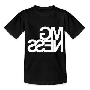 MGness Black White Mirror Kids - Teenager T-Shirt