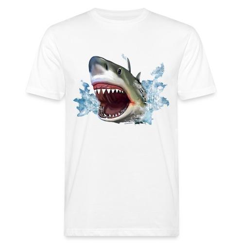 BIODIVERCITY  Hai - Männer Bio-T-Shirt