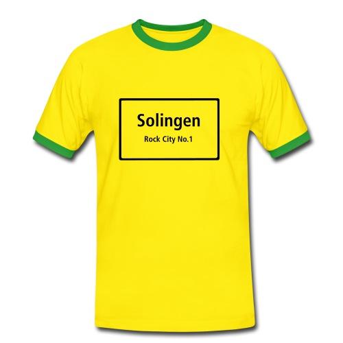 Solingen Rock City No.1 - T-Shirt Männer - Männer Kontrast-T-Shirt