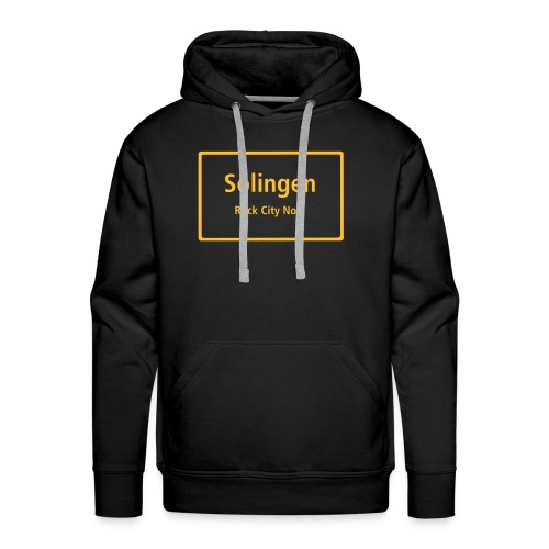 Solingen Rock City No.1 - Kapuzen-Pullover - Männer Premium Hoodie