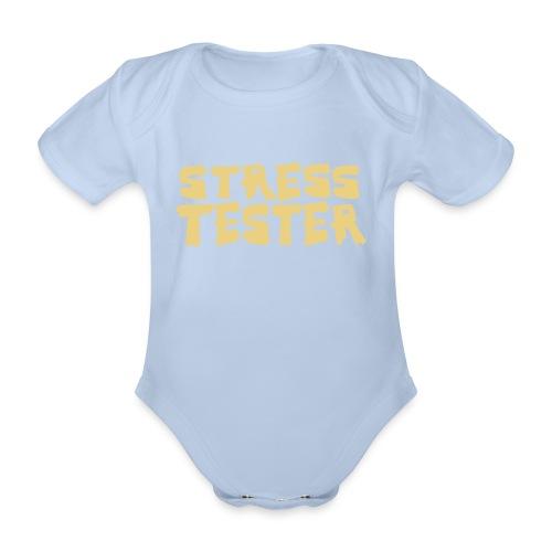 Stresstester Body - Baby Bio-Kurzarm-Body