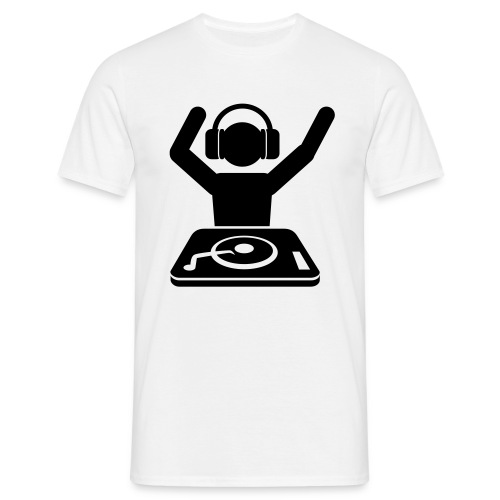 Dj T-Shirt - Männer T-Shirt