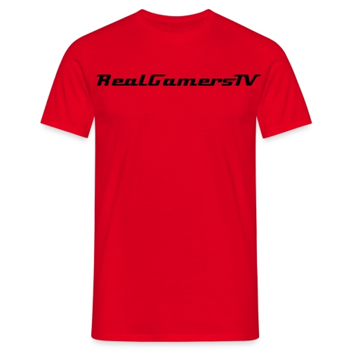Basic RealGamersTV T-Shirt - Men's T-Shirt