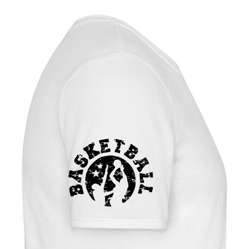 Basketball Logo Schulter - Männer T-Shirt