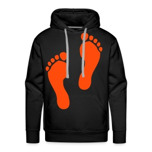 Foot Prints - Men's Premium Hoodie