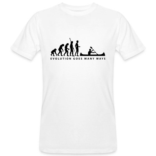 Evolution... - Männer Bio-T-Shirt