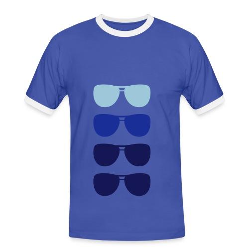 glasses - T-shirt contrasté Homme