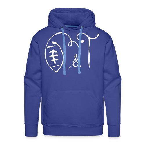 Sweatshirt HOMME - Sweat-shirt à capuche Premium pour hommes