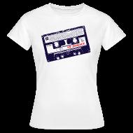T-Shirts ~ Women's T-Shirt ~ Retro tape t shirt