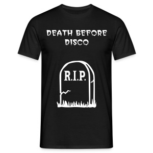 Death Before Disco - Men's T-Shirt