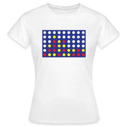 4 in a row women's T-shirt - Women's T-Shirt