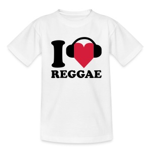 I love Music - Reggae Barneskjorter - T-skjorte for tenåringer