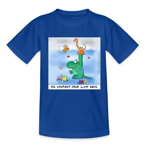 Loch Ness - Teenager T-Shirt