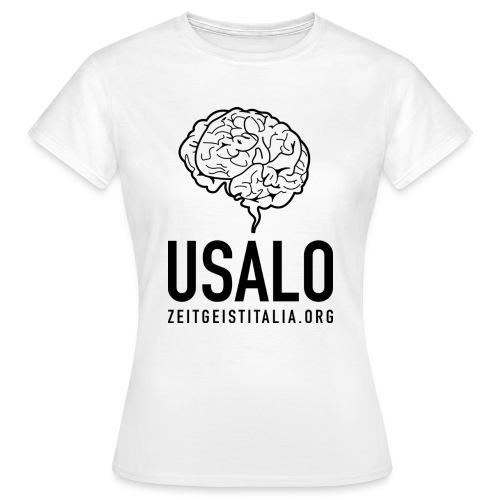 Cervello - usalo for Z-girls - Maglietta da donna