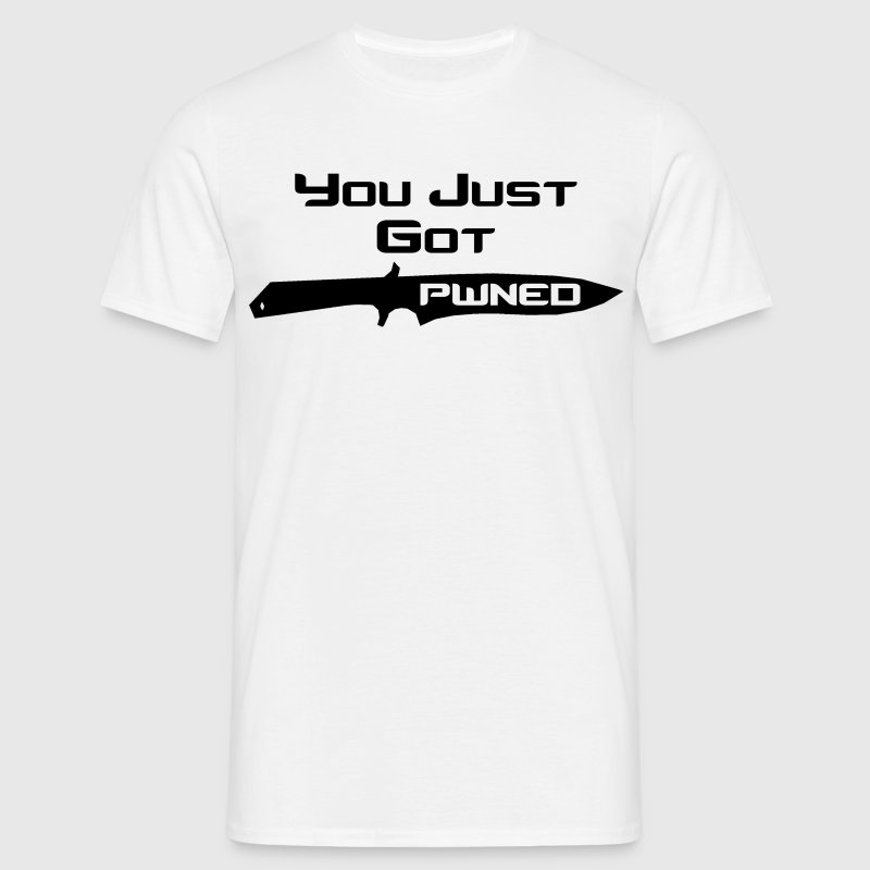 You Just Got Pwned - Men's T-Shirt