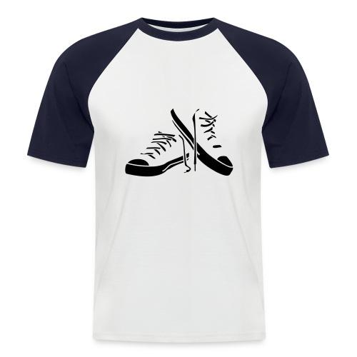 shoe t - Men's Baseball T-Shirt