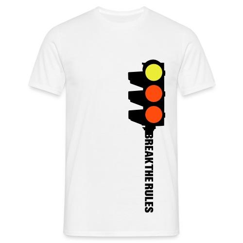 break the rules - Men's T-Shirt