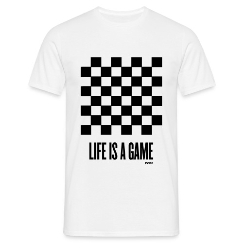 lifes a game - Men's T-Shirt