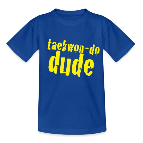 taekwondo dude - Teenage T-Shirt