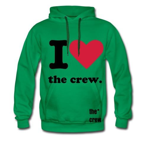 i heart the crew. - Men's Premium Hoodie