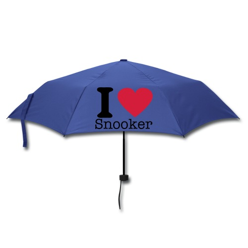 I LOVE SNOOKER -Shirm - Regenschirm (klein)