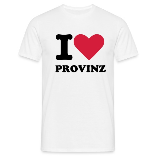 from Provinz with love - Männer T-Shirt