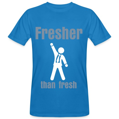 Fresher than fresh - Økologisk T-skjorte for menn