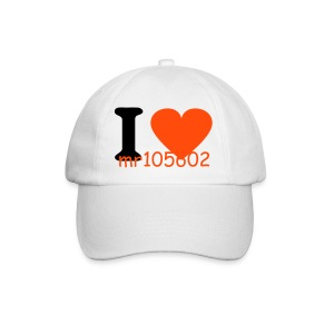 i love Mr105602 hat - Baseball Cap